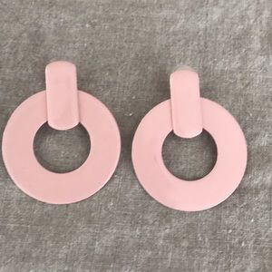 J. Crew Jewelry - J Crew Blush Statement Earrings